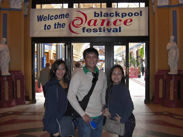 Eleanor Hayco, Loloy Rendon & Ricca Alix @ Blackpool Dance Festival - UK