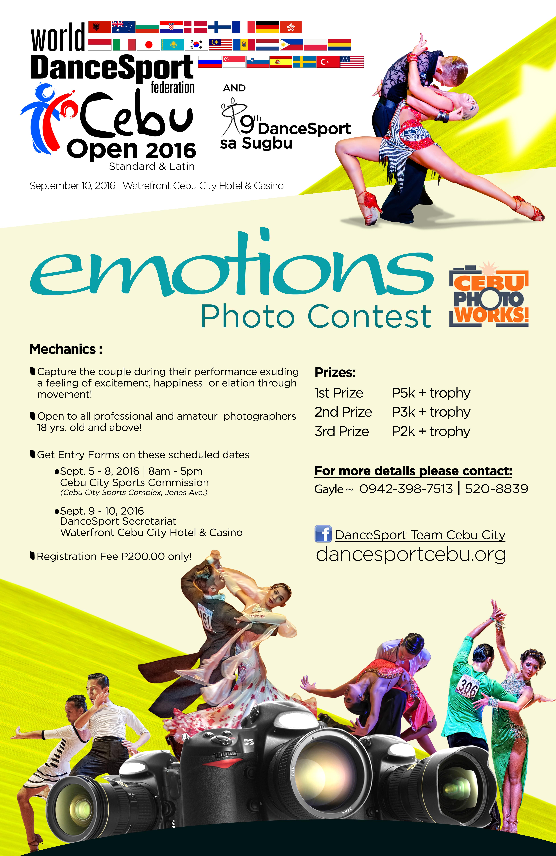 2016 wdsf cebu open photo contest poster